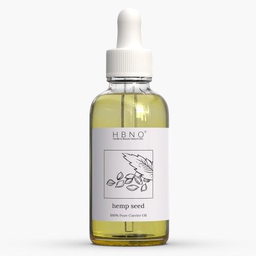 Hemp Seed Oil, Virgin, Unrefined