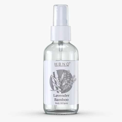 Lavender Bamboo Body Oil Spray